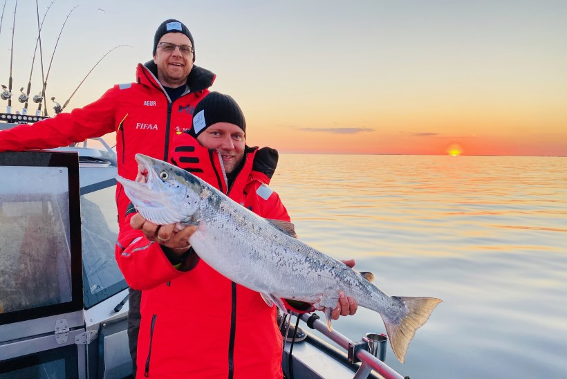 Trollingträff 2021 ehk Alexela Salmon Trolling Team Estonia seiklusjutte (Ahvena)maalt ja merelt