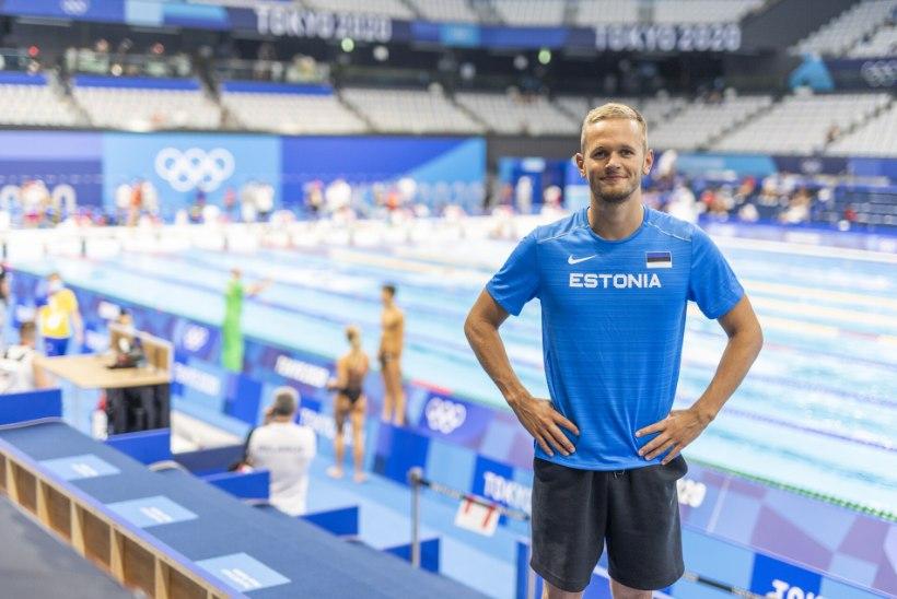 Zirk ujus olümpial Eesti rekordi