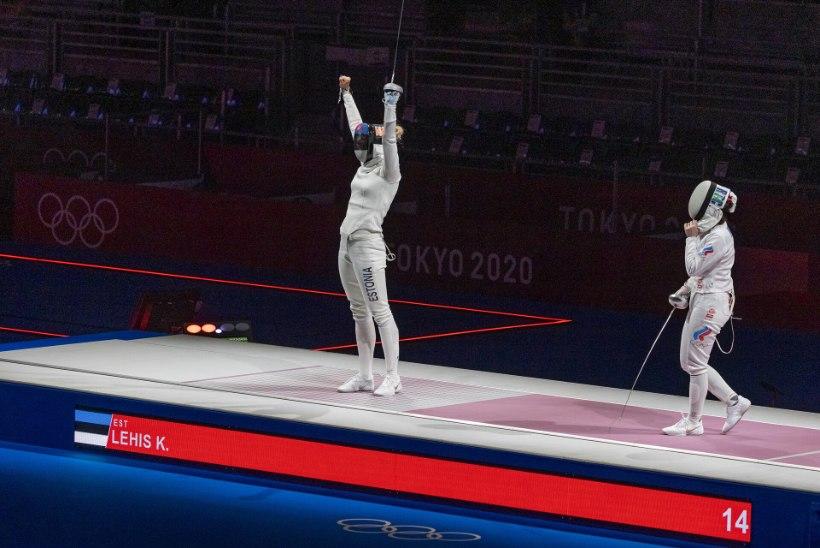 ÕL TOKYOS | PRONKS! Võrratult võidelnud Lehis avas Eesti medaliarve