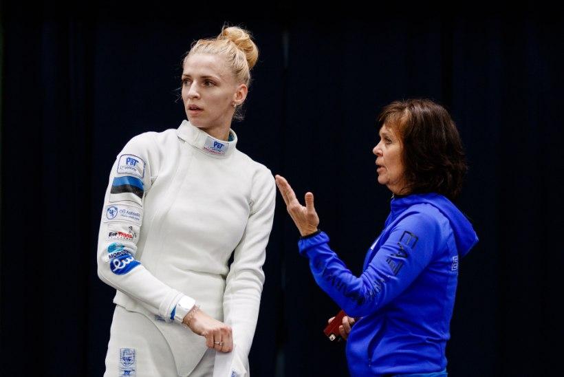 """Kahekordne olümpiavõitja Svetlana Tširkova-Lozovaja: """"Selle medali sees on väga palju Heleni tööd."""""""