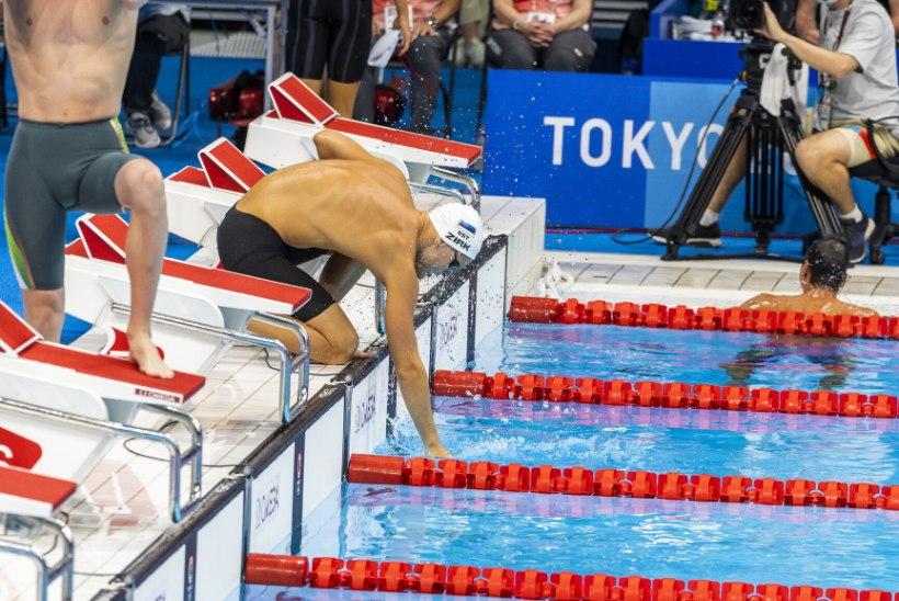 OLÜMPIABLOGI JA GALERII   Neljapaat pääses võimsa lõpuspurdi toel medalisõitu, ujujad Zirk ja Jefimova poolfinaali