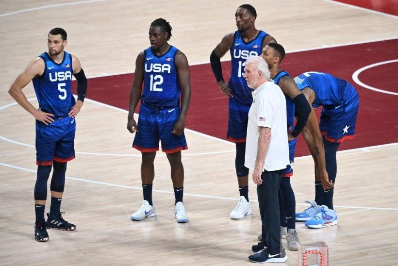 """USA esimene kaotus olümpial pärast 2004. aastat! Peatreener: """"Ma ei saa aru, miks see tulemus peaks olema üllatav."""""""