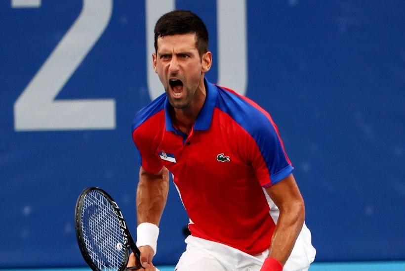 ÕL TOKYOS | AJALUGU TULEB LÄHEMALE: Djokovic liigub ulmelise kuldse slämmi kursil!