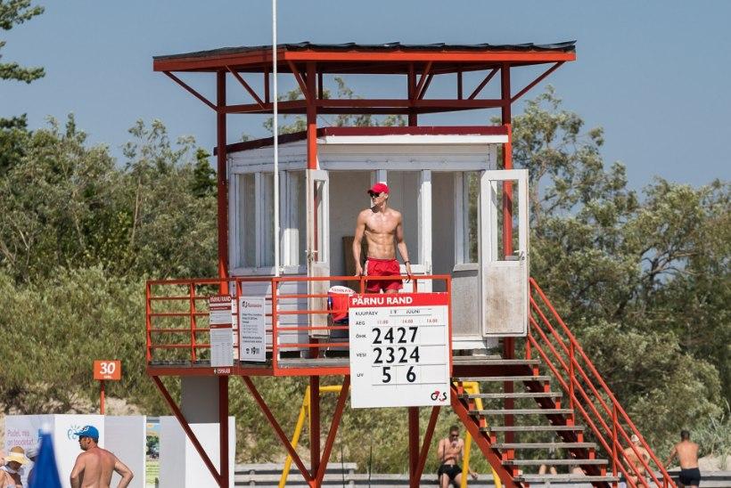 Vetelpäästjad tõid Stroomi rannas veest välja joobes mehe, kes hakkas neile füüsiliselt vastu
