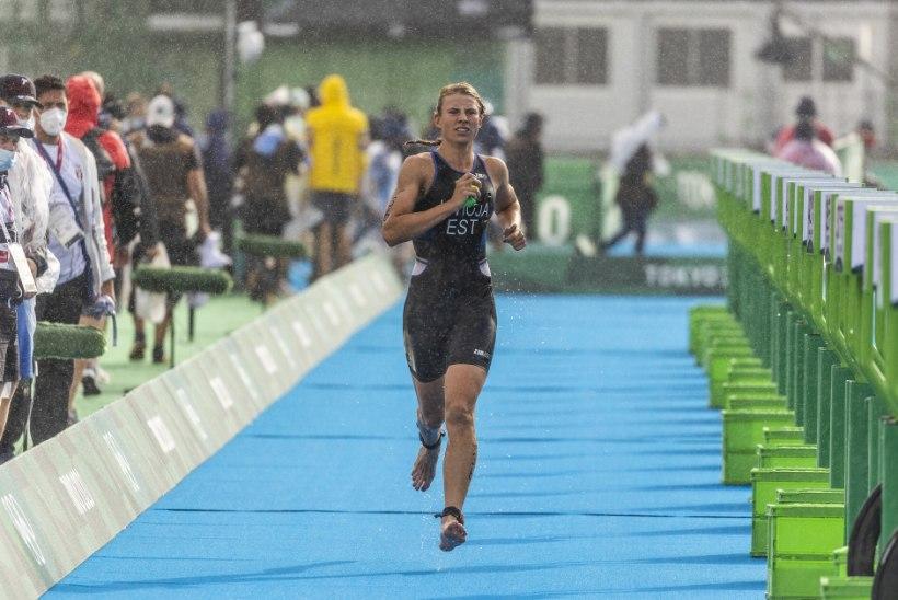 ÕL TOKYOS | GALERII | Triatleet Kivioja ei jõudnud finišisse: väga suur ebaõnnestumine, aga tõesti võitlesin lõpuni