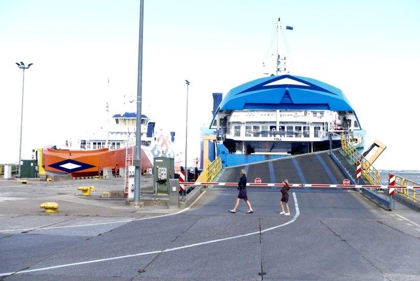 Sisejuurdlus: õnnetus parvlaevaga Tõll ei juhtunud inimliku vea tõttu