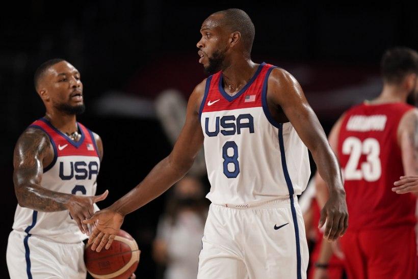 Jõudemonstratsiooni korraldanud USA koondis avas olümpial võiduarve