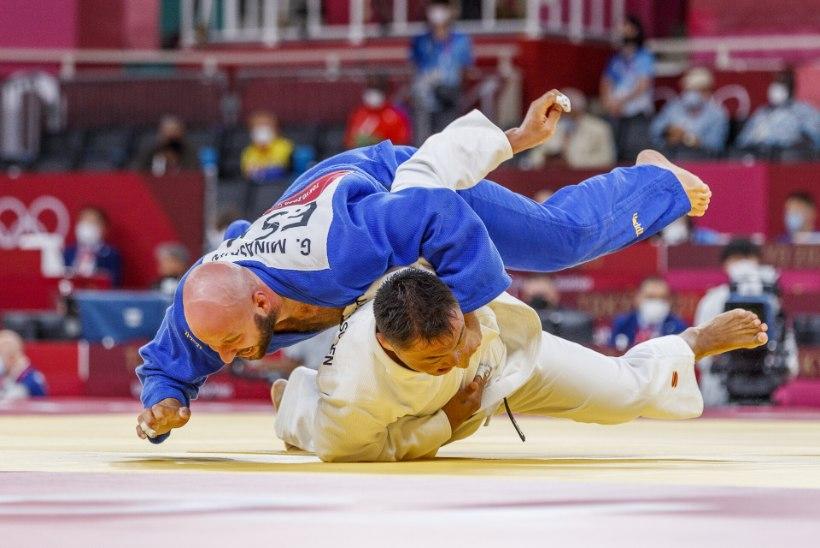 OLÜMPIABLOGI JA GALERII   Judoka Minaškin piirdus olümpial ühe matšiga, vibulaskja Pärnat tegi ajalugu, Zirk jäi poolfinaalist kaugele