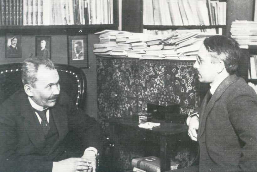 VISIONÄÄR: Gustav Suits algatas ühena esimestest Eesti iseseisvuse idee ning unistas Soome-Eesti unioonist