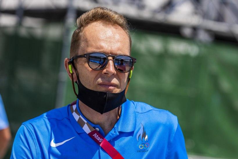 """ÕL TOKYOS   Eesti olümplaste tohter Mihkel Mardna: kaks päeva tagasi olid kergejõustikuareeni """"jäävannid"""" kaks laste mängubasseini…"""