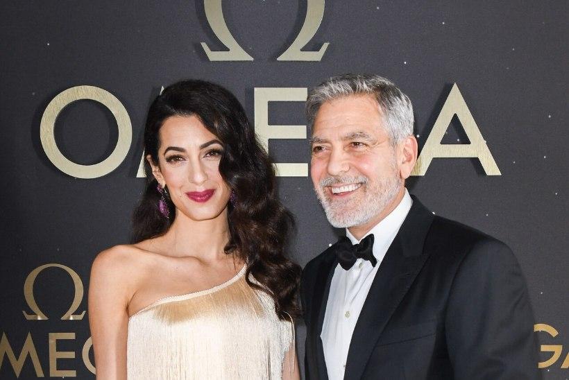 JÄLLE KAKSIKUD? George Clooney abikaasa on taas lapseootel