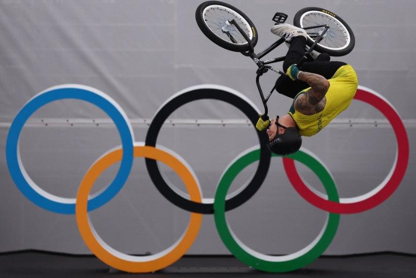 ÕL TOKYOS | Füüsikaseadusi eirav BMX freestyle ühtib perfektselt olümpiadeviisiga