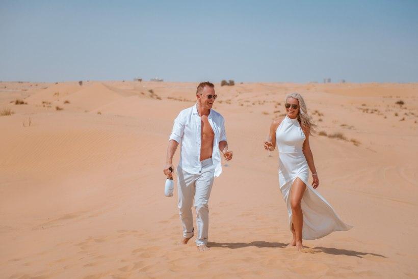 FOTOD | Noorkuu laulja Rein Kahro Dubais abiellumisest: eesmärk oli oma unistuste päeva kahekesi veeta