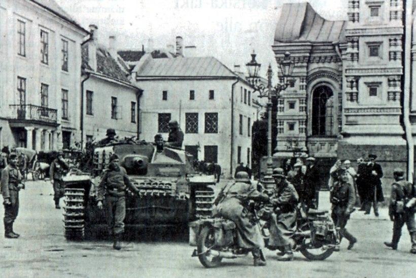 Tõnis Erilaiu lehesaba | Kuidas Saksa väed Eestisse jõudsid