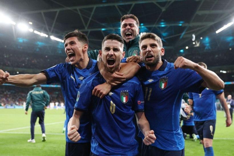 Itaalia alistas penaltiseerias Hispaania ja jõudis EMi finaali