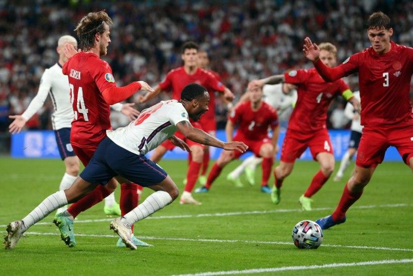 Inglismaa alistas Taani tänu lisaajal teenitud kaheldavale penaltile