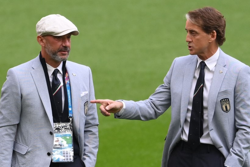 Roberto Mancini ehitas vähist paranenud parima sõbra abiga rahvuskoondisest sõpruskonna