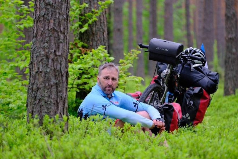 Maailmarändur Tõnis Milling soovitab: seda kümmet asja tuleks jalgrattamatkale minnes meeles pidada