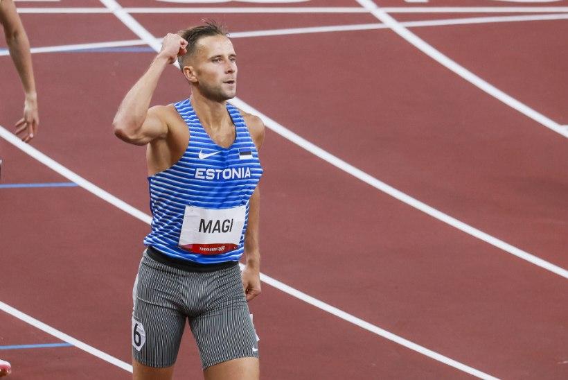 ÕL TOKYOS   Rahvusrekordiga olümpiafinaali pääsenud Rasmus Mägi: oli paras praadimine näha, kuidas eelmistes jooksudes paugutatakse korralikke aegu