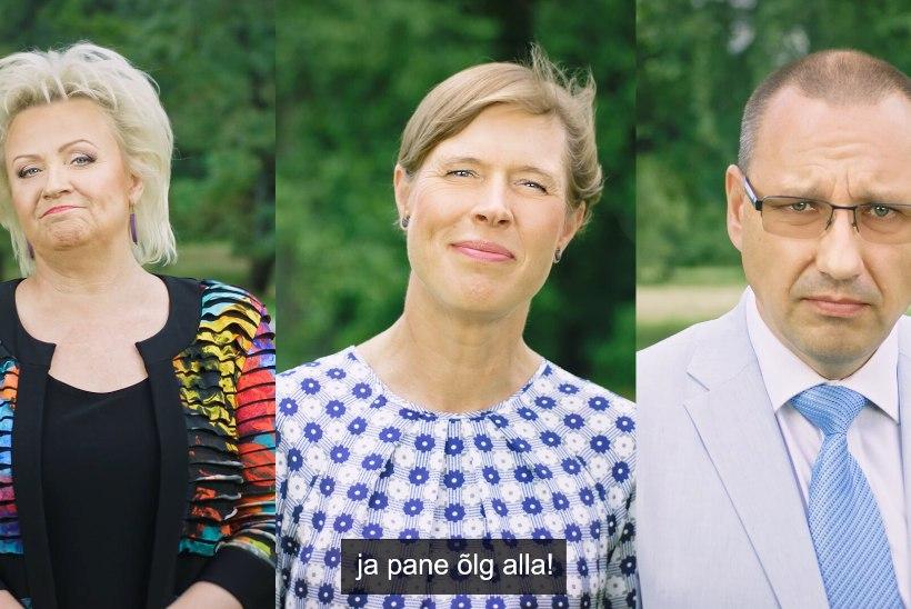 VIDEO | Kersti Kaljulaid, Anne Veski ja Arkadi Popov kutsuvad üles vaktsineerima