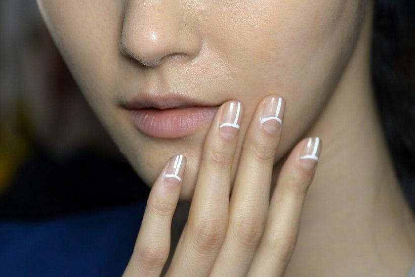 Küünte kontuurimine on hea nõks muutmaks sõrmed visuaalselt pikemaks