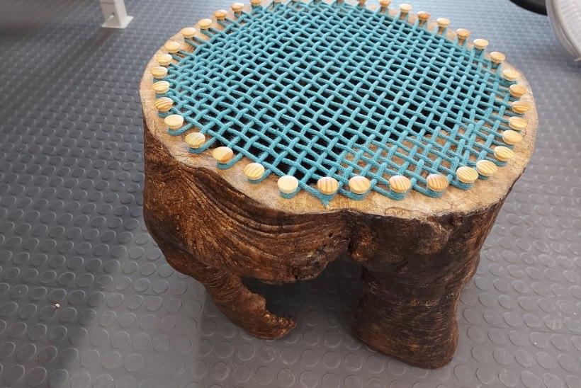 ÕPETUS: tee õõnsast puutüvest istepink