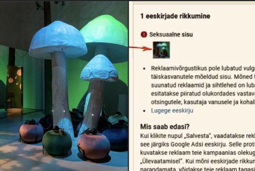VAHI VÄRKI: Google peab Eesti Rahva Muuseumi näitust pornograafiliseks!