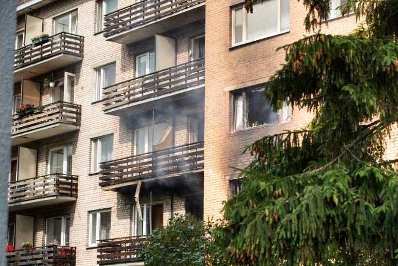 FOTOD | Tartu gaasiplahvatuse põhjustanud mees suri haiglas