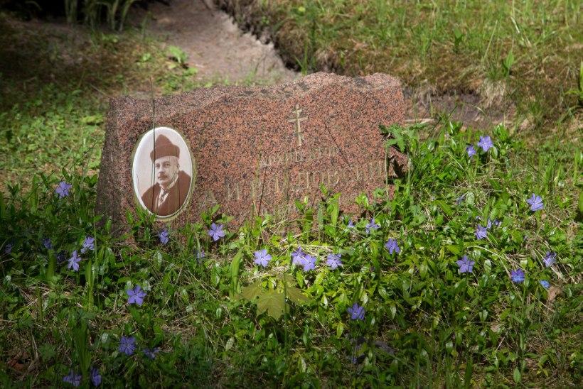 Voldemar Kuslapi kalmukolumn   Uued leiud Metsakalmistult