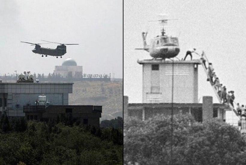 AJALUGU KORDUB: Kabuli saatkonna evakueerimine sünnitas võrdlusi ameeriklaste Saigonist lahkumisega 1975. aastal