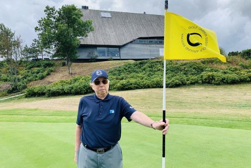 """Legendaarse golfitreeneri eestvedamisel avati Eesti pikim golfirada """"Golf ümber Eesti"""""""