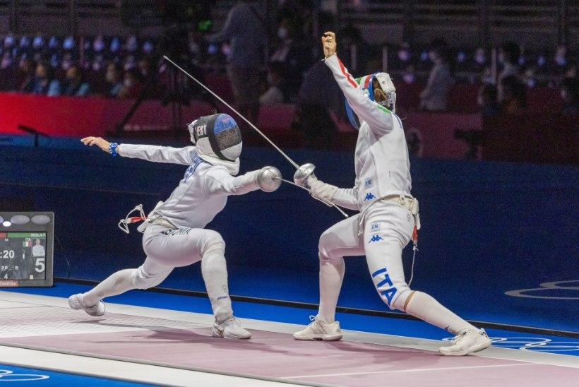 """Olümpiavõitja Erika Kirpu pisiperest: """"Jõuab ikka. Pariisini on veel kolm aastat."""""""