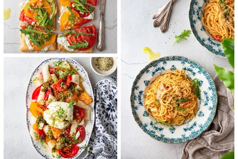 RAGNE VÄRK SOOVITAB | Kiiksuga tomatipirukas, lihtne ja eriline tomati-melonisalat ja maailmakuulus tomati-fetapasta