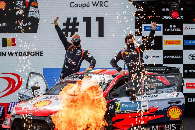 Kreeka rallil stardib kaks Eesti pilooti ja 11 WRC-masinat, Breen vaatab sõitu telekast