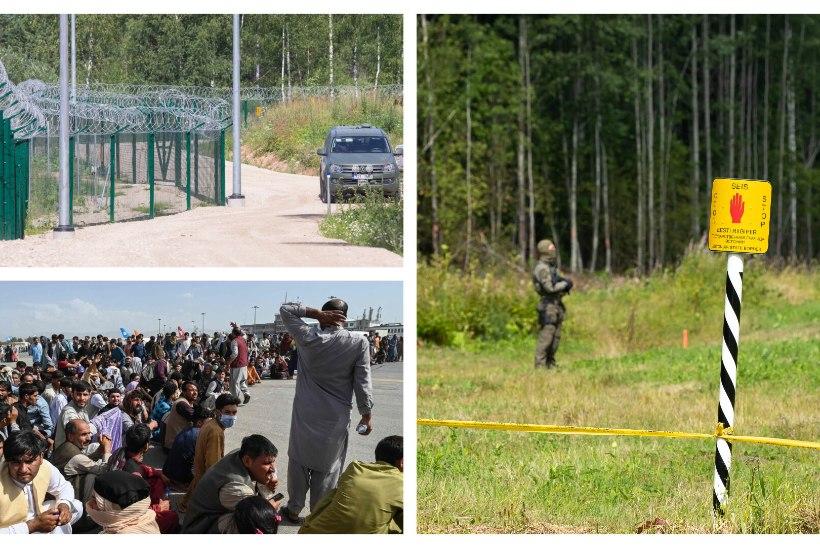 EESTI KUI KORIDOR PÕHJAMAALE: kas meie piiri võib tabada samasugune surve nagu Leedus? Kuidas mõjutab rännet Afganistanis toimuv?