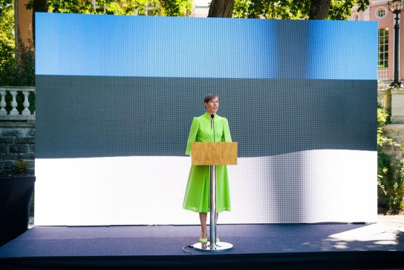 KÜSITLUSE TULEMUSED: Eesti elanike arvates sobiks järgmiseks presidendiks kõige paremini Kersti Kaljulaid