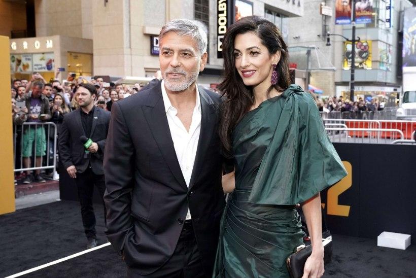 Clooney ja tema naine eitavad kuuldusi uuest lapseootusest