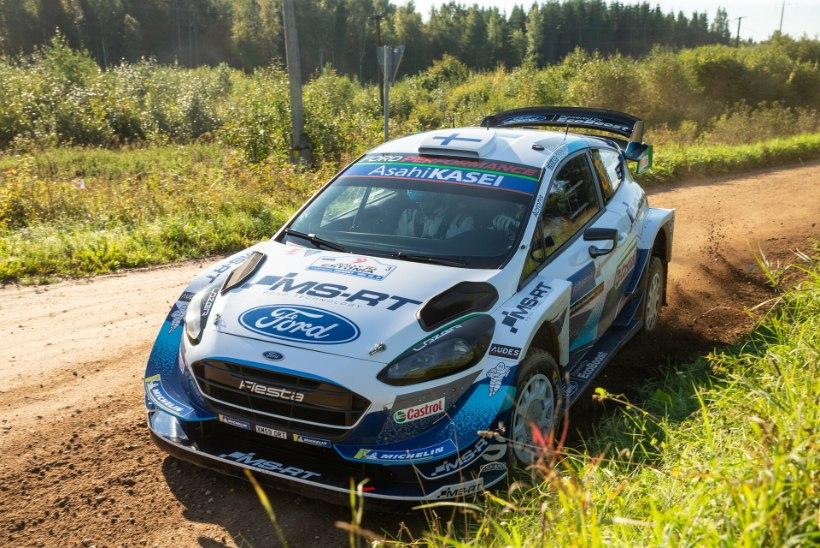 Soome ralliässa edasine karjäär on suure küsimärgi all