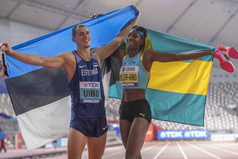 Shaunae Miller-Uibo abikaasaga koos treenimisest ja võistlemisest: arvan, et ühine rutiin teeb meist võitjad