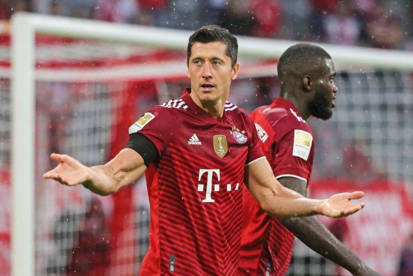 VIDEO   Bayern avas võiduarve, Lewandowski jätkas võimsat seeriat