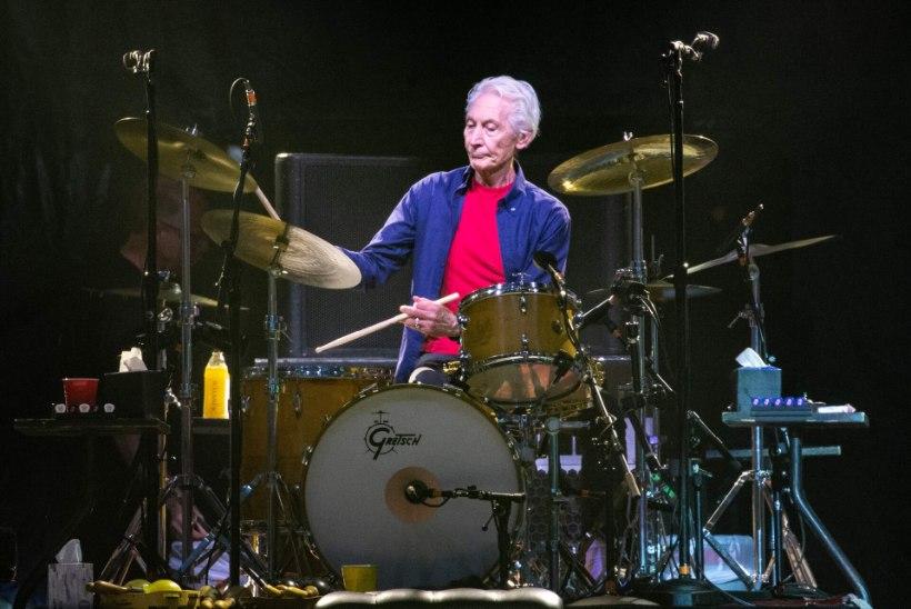 Suri Rolling Stonesi trummar Charlie Watts