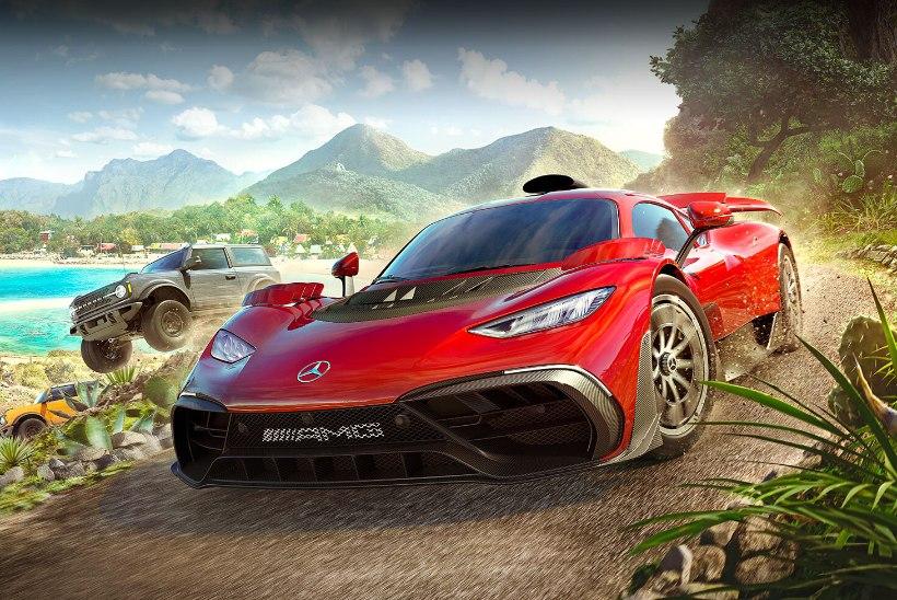 """""""Forza Horizon 5"""" on võidusõidumäng, mille saad läbi teha kordagi võidu sõitmata"""