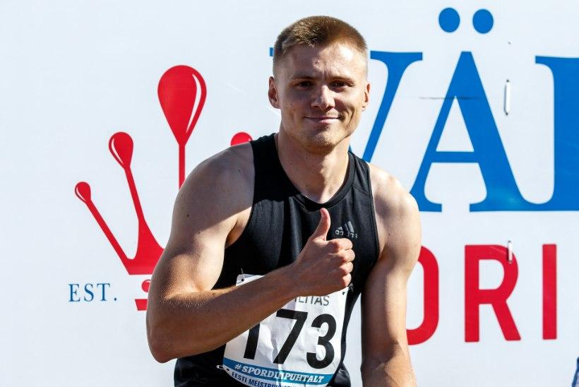 VÄGEV! Tanel Visnap tuli 100 meetri jooksus kurtide maailmameistriks!