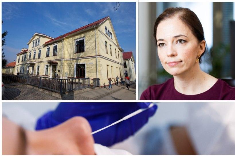 Haridusminister lubas koolis käia, terviseamet saatis koroonajuhtumi tõttu kõik õpilased koju. Lapsevanem: tule taevas appi!