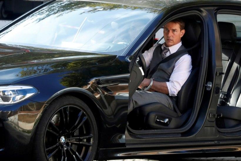 """Uue """"Võimatu missiooni"""" võtete ajal ärandati Tom Cruise'i BMW"""