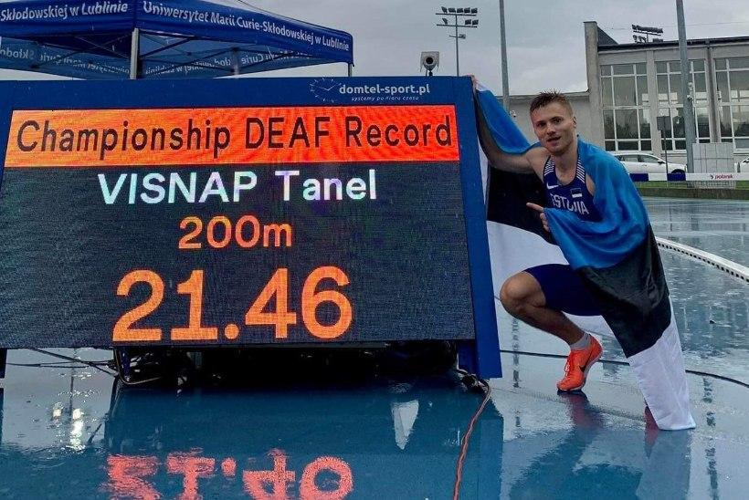 Tanel Visnapi imeline MM: kaks kulda, kaks võimsat võistluste rekordit ja pronks