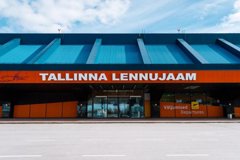 Esimesel poolaastal läbis Tallinna lennujaama 50% vähem reisijaid kui mullu samal ajal