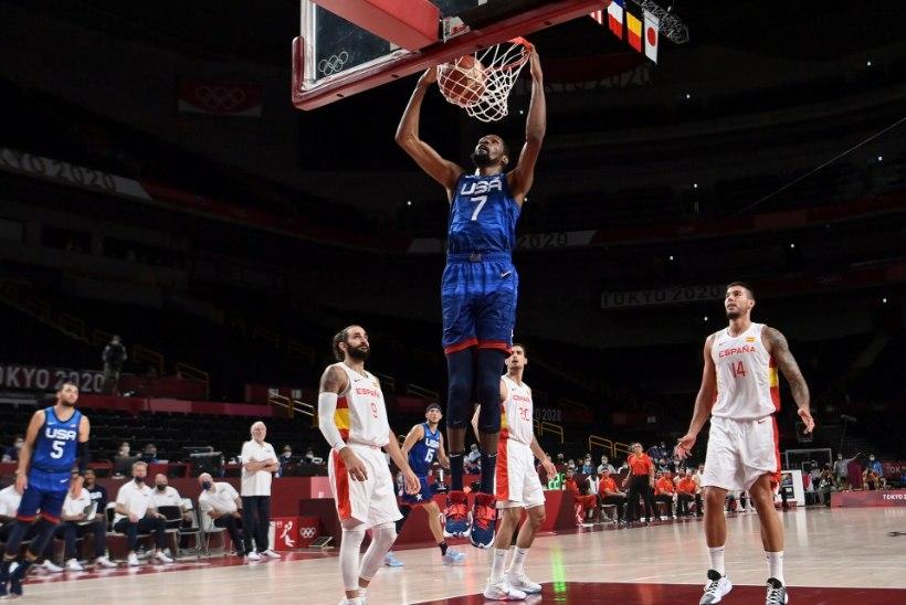 ÕL TOKYOS   IKKA KAOTUSETA! Kas Luka Doncic veab Sloveenia olümpiakullale? USA alistas Hispaania ja Prantsusmaa Itaalia
