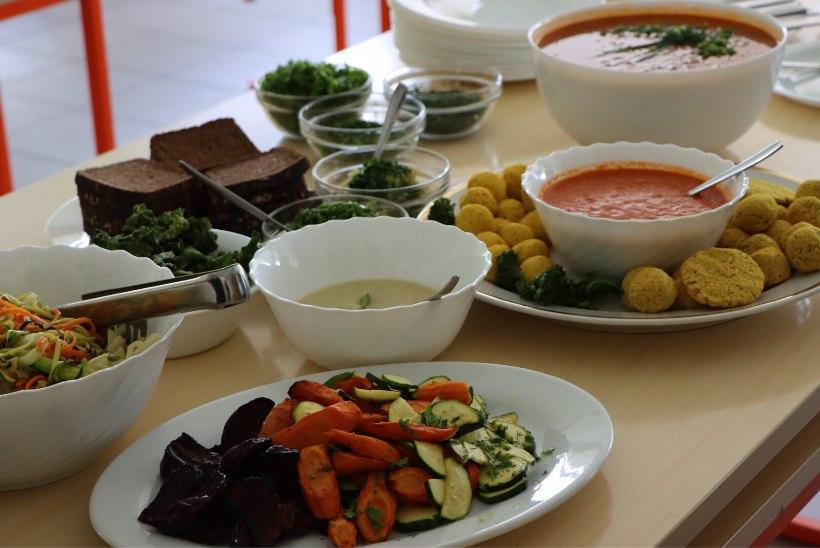 Miks pakkuda lasteaedades ja koolides kord nädalas taimset lõunat?