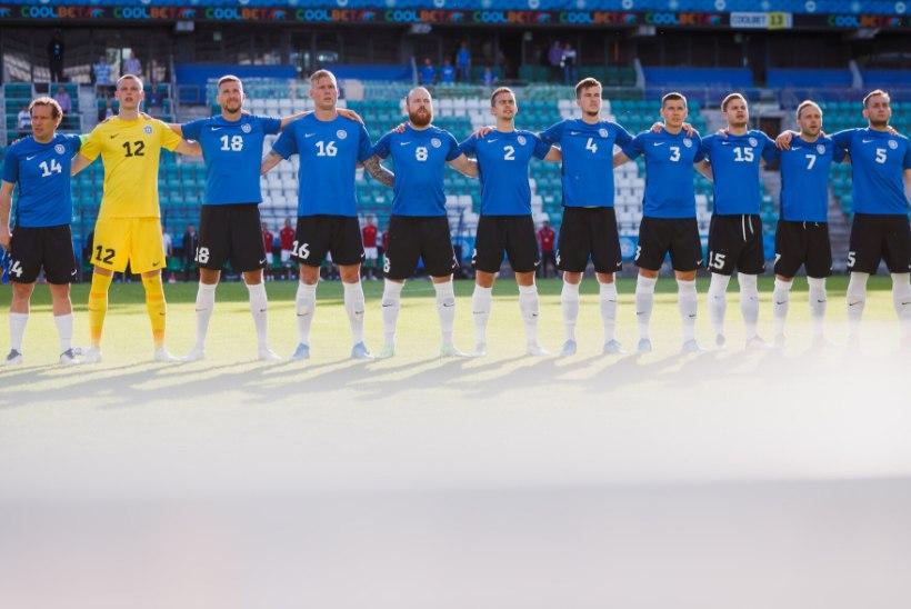 TELER KUSTU! Eesti jalgpallikoondise mängude eest peab edaspidi maksma krõbedat hinda!